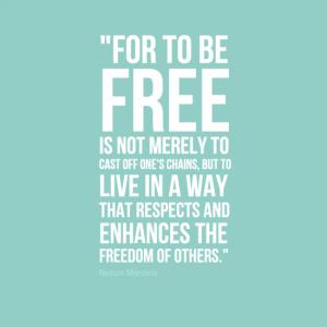 Nelson Mandela - Freedom