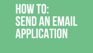 How to send an email application
