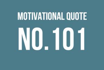 Motivational Quote 101