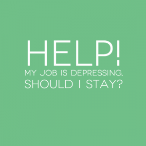 Help - My job is depressing