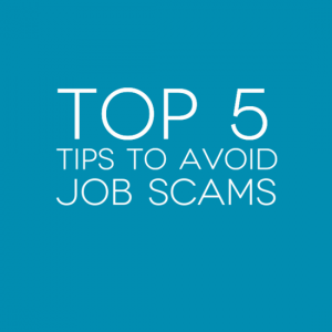 Top 5 tips to avoid job scams