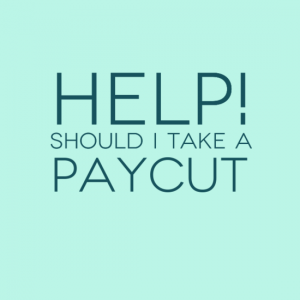 Help - Should I take a pay cut to secure my dream job