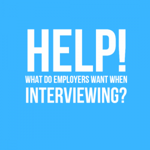Help! What do employers want