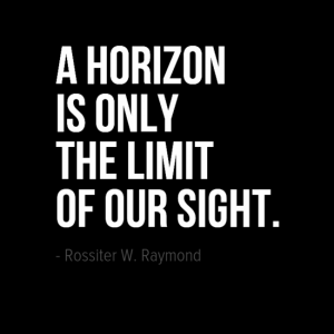 A horizon is only th limit