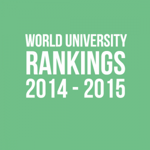 World university rankings 2014 - 2015