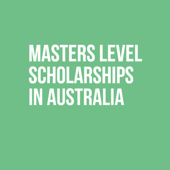 Masters Level Scholarships in Australia