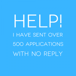 Careers Agony Aunt - 500 Applications No Reply