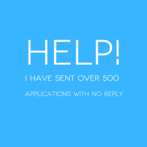 Careers Agony Aunt - 500 Applications No Reply a