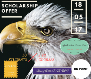 Scholarship Offer - Eagle Institute