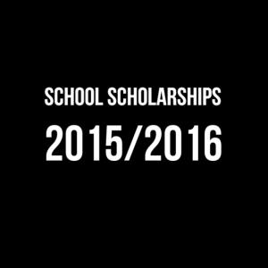 School Scholarships 2015/2016
