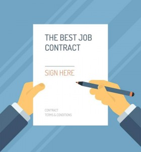 What to do when offered a job