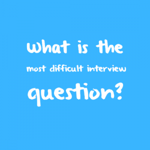 What is the most interview question?